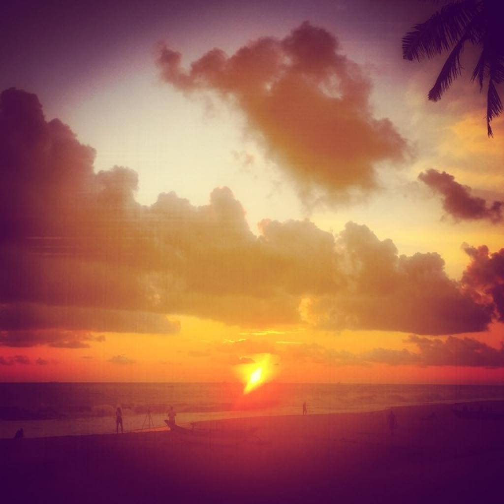 Sri Lanka's famous sunsets
