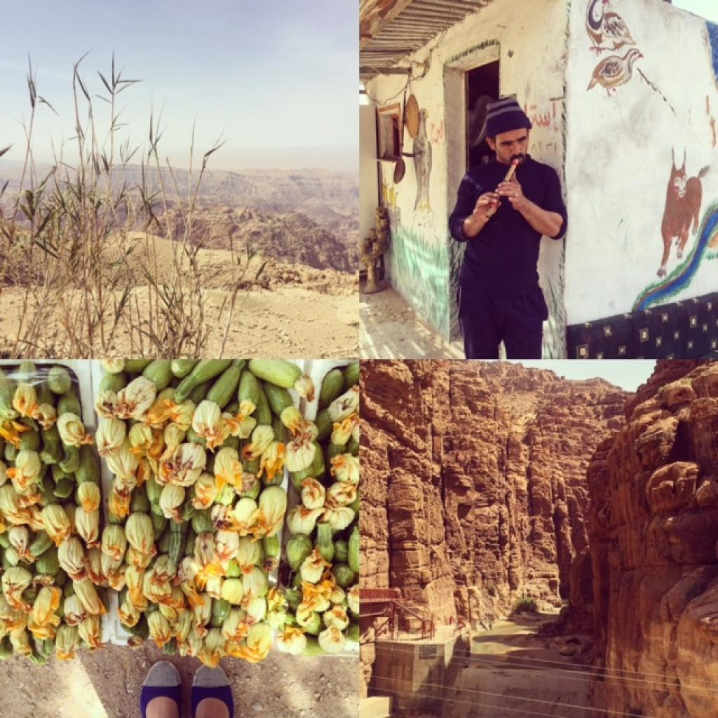 Peek into our drive from Petra (Wadi Mousa) to the Dead Sea