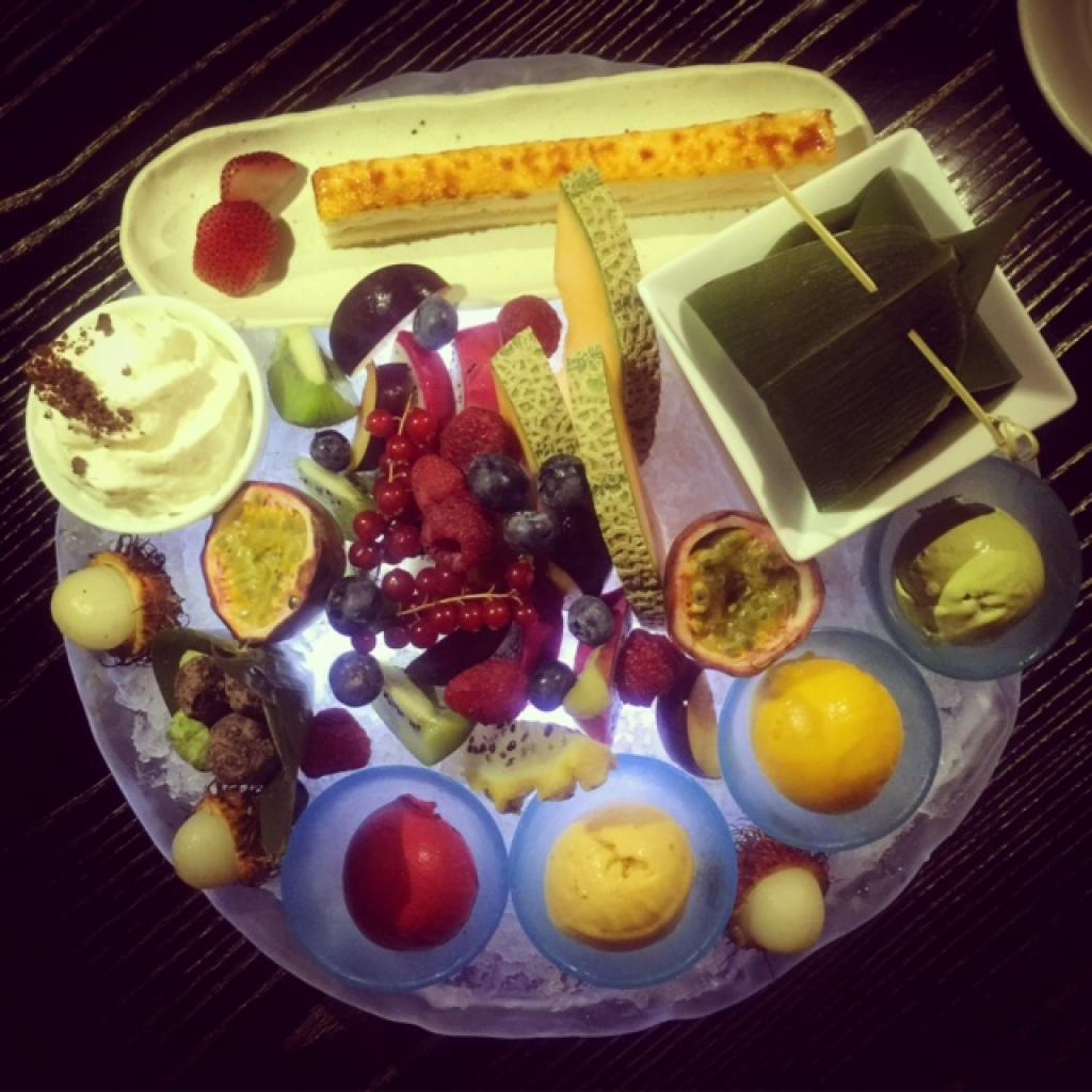 Nobu Doha's desserts