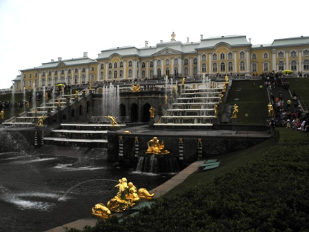 Peterhof Palace & Gardens - rivals Versailles