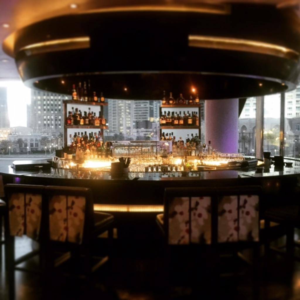 Nobu Doha bar