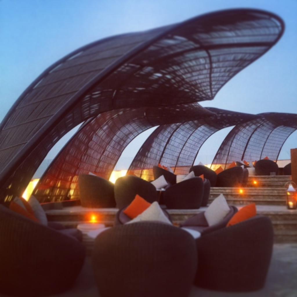 Nobu Doha rooftop terrace